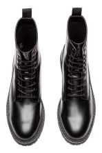 Chunky-soled boots - Black - Men | H&M GB 2