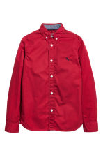 Cotton shirt - Red - Kids | H&M 2