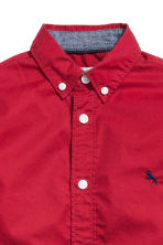 Cotton shirt - Red - Kids | H&M 4