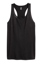 Sports top - Black - Ladies | H&M CA 2