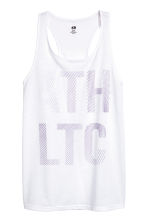 Sports top - White - Ladies | H&M 2