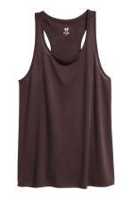 Sports top - Plum - Ladies | H&M GB 2