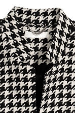 Short Coat - Houndstooth-patterned -  | H&M CA 3