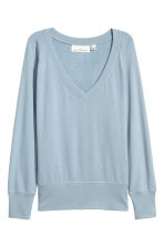 Sweater - Lichtblauw - DAMES | H&M BE 2