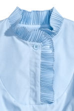 Smocked Blouse - Light blue - Ladies | H&M CA 3