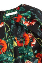 Cotton Blouse - Black/floral - Ladies | H&M CA 3
