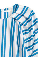 Cotton blouse - White/Blue striped - Ladies | H&M 3
