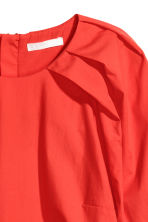 Cotton blouse - Red - Ladies | H&M 3