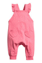 Bib trousers - Pink -  | H&M GB 1