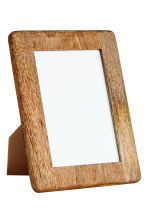Wooden photo frame - Natural - Home All | H&M IE 1