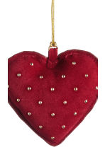 2-pack Christmas decorations - Dark red - Home All | H&M CN 3