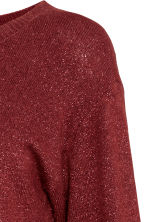 MAMA Knitted jumper - Burgundy - Ladies | H&M GB 3