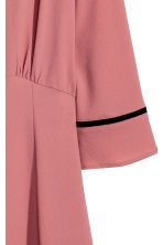 Crêpe dress - Vintage pink - Ladies | H&M 3