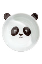 Animal-motif bowl - White/Black - Home All | H&M CN 1