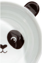 Animal-motif bowl - White/Black - Home All | H&M CN 2
