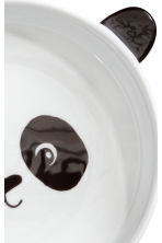 Animal-motif deep plate - White/Black - Home All | H&M CN 2
