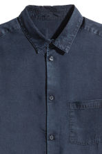 Denim shirt Regular fit - Dark blue - Men | H&M CN 3