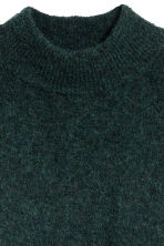 Pullover in misto mohair - Verde scuro mélange - DONNA | H&M IT 3