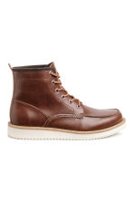 Boots - Dark brown - Men | H&M 1