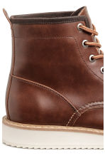 Boots - Dark brown - Men | H&M 4