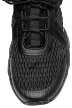 Hi-tops with a knitted shaft - Black - Men | H&M 3