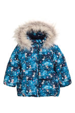 Padded jacket - Blue/Frozen - Kids | H&M 2