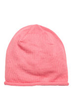 Fine-knit hat - Pink - Kids | H&M 1