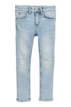 Superstretch Skinny fit Jeans - Light denim blue - Kids | H&M 2
