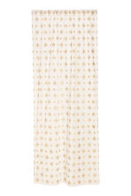 Star-print curtain length - White/Gold-coloured - Home All | H&M IE 1