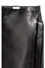 Leather Skirt - Black - Ladies | H&M CA 3