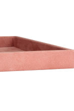 Suede tray - Pink - Home All | H&M IE 4