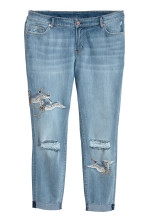 Light denim blue/Crranes