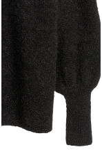Knitted jumper - Black - Ladies | H&M 3