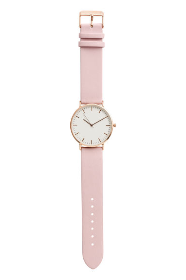Watch - Light pink - Ladies | H&M CN