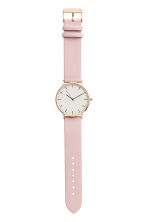Wristwatch - Light pink - Ladies | H&M CA 1