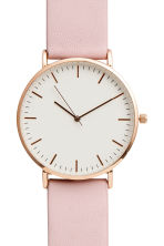 Wristwatch - Light pink - Ladies | H&M CA 2