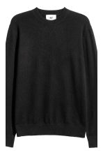 Cashmere jumper - Black - Men | H&M 4