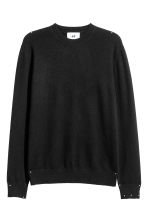 Cashmere jumper - Black - Men | H&M 2