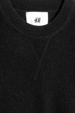 Cashmere jumper - Black - Men | H&M 3