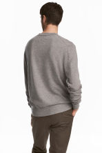 Cashmere jumper - Grey marl - Men | H&M 4