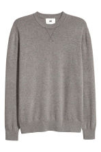 Cashmere jumper - Grey marl - Men | H&M 2