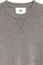 Cashmere jumper - Grey marl - Men | H&M 5