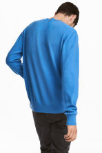 Pullover in cashmere - Blu acceso - UOMO | H&M IT 4