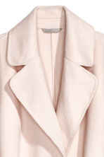 Wool-blend coat - Light beige - Ladies | H&M CN 3