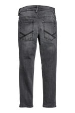 Skinny fit Biker Jeans - Svart washed out - Kids | H&M SE 3