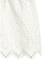 Shorts with broderie anglaise - White - Ladies | H&M 3