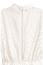 Broderie anglaise playsuit - White - Ladies | H&M 3