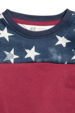 Printed T-shirt - Red/Stars - Kids | H&M 2