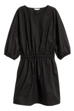 Dolman-sleeved dress - Black - Ladies | H&M 2