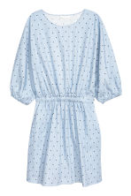 蝙蝠袖洋裝 - Blue/White/Striped - Ladies | H&M 2